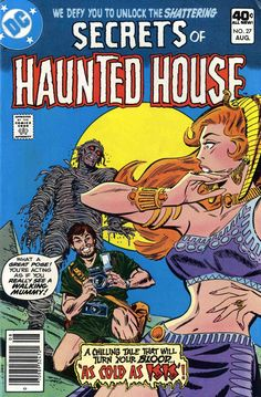 Secrets Of Haunted House n°27, August 1980, cover by Don Heck