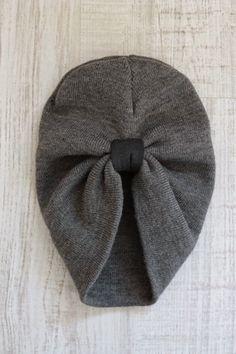 Beanie to turban tutorial Turban Headband Tutorial 463b2a2a507
