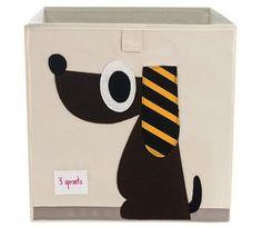 Oppbevaringskasse i stoff, Hund