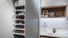 From having invisible cabinets to showcasing smart furniture picks, this tiny home inspires us to declutter and revamp our own space Condo Interior Design, Small Space Interior Design, Condo Design, Small Room Design, House Design, Studio Apartment Floor Plans, Studio Condo, Studio Apartment Design, Apartment Ideas