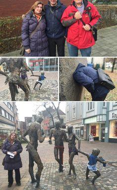 """Und analog zum Film, hier ein paar Fotos vom Rundgang mit Wolfgang Seidel, Sprecher und Mitinitiator der """"Stadtkunst"""" in Herten und Sylvia Seelert, Teamleiterin des Kulturbüros in Herten.  FILM 1: http://youtu.be/ceRClhkeQtA  Mehr folgt dazu später. ----- #kultur #herten #ruhrgebiet #kunst #schlosspark #orangerie #barock #park #outdoor #trip #route53"""