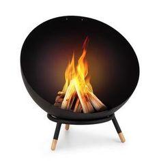 Semineu de gradina (28 produse) - MobMob.ro Fire Pit Bowl, Fire Pit Table, Fire Bowls, Demi Sphere, Outdoor Fire, Outdoor Decor, Metal Fire Pit, Patio Heater, Bowl Designs