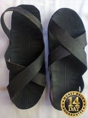 Masai warrior tire sandals.Extremely durable