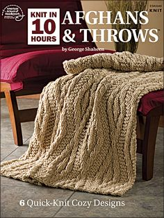Knitting - Knit in 10 Hours: Afghans & Throws - #ESK0049