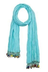 Jingle Shawl turquoise