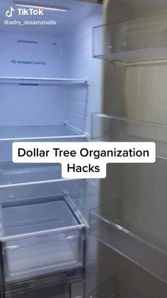 Small Refrigerator, Refrigerator Organization, Kitchen Organization Pantry, Diy Kitchen Storage, Home Organization Hacks, Medicine Organization, Useful Life Hacks, Küchen Design, Home Hacks
