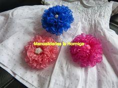 flores grandes cinta organza para decorar moños,. lazos accesorios  para...