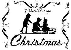 SHABBY-CHIC-VINTAGE-STENCIL-SCHABLONE-Christmas-MOBEL-WAND-TEXTIL-GARDINEN