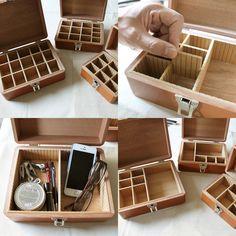 松野屋 木製印箱