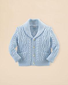 Ralph Lauren Childrenswear Infant Boys' Shawl Collar Cardigan Sweater - Sizes 3-24 Months