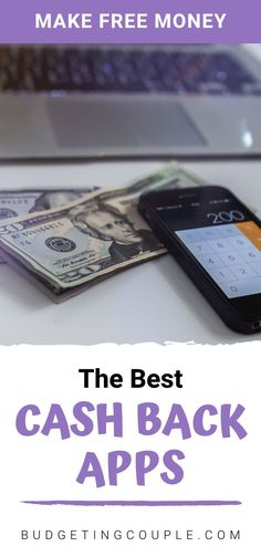 Did you know you can make money in your free time with *almost* no effort? You NEED to check out this list of the best cash back apps that actually work! You could be making free money on the go right now! #makemoney #cashapps Make Easy Money, Make Money From Home, Make Money Online, How To Make, Making A Budget, Making Ideas, Financial Apps, Free Money, Free Cash