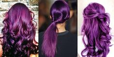 Purple would be nifty too! Heck - I'd like the haircut/style as well!
