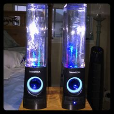 SoundSOUL water color speakers Used only twice. Works perfectly fine, music plays loud and clear. Selling because I want to invest in the bigger ones lol SoundSOUL Other