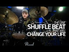One Shuffle Drum Beat That Will Change Your Life - YouTube Drum Sheet Music, Drums Sheet, Drum Lessons, Music Lessons, How To Play Drums, Learn Drums, Drum Rudiments, Steve Gadd, Trommler