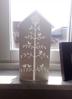 Paper House | A house I made as a Christmas decoration maybe… | Flickr