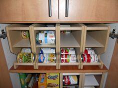 Canned food rotaion racks