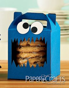 Cookie Monster Cookie Boxes