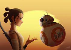 Uma nova teoria de fãs de Star Wars sobre Rey vai mudar como você vê a personagem