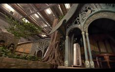 More Rivendell interior architecture