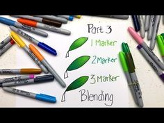 These adult coloring tutorials will help beginner colorists learn colored pencil techniques, how to color with markers, and other beginner coloring tips. Sharpie Crafts, Sharpie Markers, Sharpie Art, Alcohol Markers, Sharpies, Alcohol Inks, Coloring Tips, Cool Coloring Pages, Adult Coloring Pages