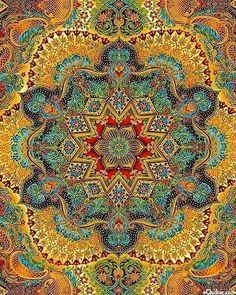 mustraditional Mandala: