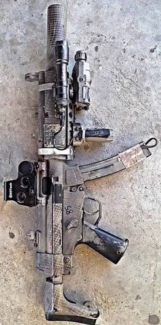 Good setup for the zombie apocalypse.Loading that magazine is a pain! Get your Magazine speedloader today! http://www.amazon.com/shops/raeind