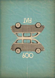 L'ancêtre de la Fiat Multipla...
