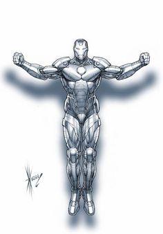 Iron Man by Dale Kewon *