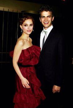 Natalie and Hayden at the premier for Star Wars
