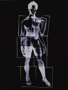"""Warhol """"Jean-Michel Baquiat"""" 1984"""