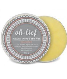 Oh-lief crema corporal natural de oliva y pomelo