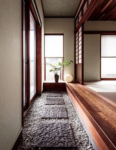 Home Dco Bathroom Interiors 34 Ideas Japanese Style House, Japanese Interior Design, Japanese Modern, Japanese Design, Japan Architecture, Interior Architecture, Custom Home Builders, Custom Homes, Zen Interiors