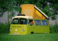 "Unser ""Hochzeits-Bulli"": VW Typ2 (T2) von 1977, Westfalia ""Helsinki"" #vw #bus #vw bus"