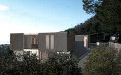 Housing complex on the Garda Lake