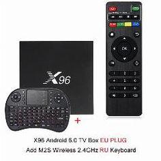 [ 25% OFF ] X96 Android 6.0 Tv Box 4K X 2K Full Hd Amlogic S905X 1G/2G 8G/16G 2.4Ghz Wifi Hdmi 2.0 Tf Card Slot Smart Media Player