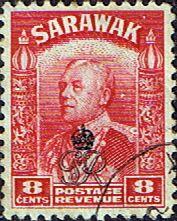 Sarawak 1947 Crown Colony Overprint SG 155 Fine Used Scott 164 Other Sarawak Stamps HERE