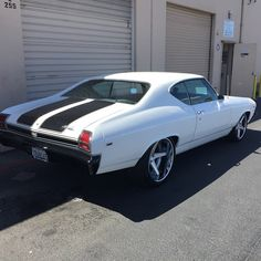 #BecauseSS kompression wheels 69 chevelle concave 5 star wheels brushed lsx swap. pro touring muscle car 19 20 setup powder coated bumpers
