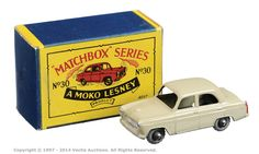 Matchbox Regular Wheels No.30A Ford Prefect | Vectis Toy Auctions