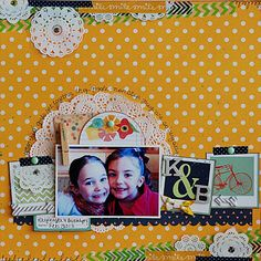#papercraft #scrapbook #layout  via Life. Paper. Scrapbook. : June #Sketch #Challenge