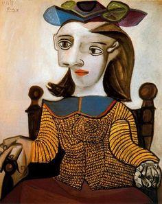 Pablo Picasso  'Dora Maar - The Yellow Shirt', 1939