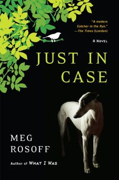 Just in Case by Meg Rosoff  David Case never questions his ordinary suburban life -- until one fateful day, a brush with death brings him face to face with his own mortality.  So he changes his name, reinvents his appearance, and falls in love with the seductive Agnes Bee -- in the hope that he?ll become unrecognizable to Fate and saved from his own doom.