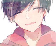Image about anime in osomatsu-san by ARMY on We Heart It Sad Anime, Anime Guys, Manga Anime, Anime Art, Sans Cute, Anime Drawing Styles, Sad Art, Another Anime, Ichimatsu