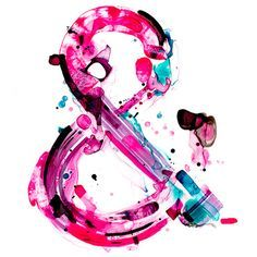 ampersand watercolor - Google Search