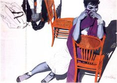 Coby Whitmore art   Coby Whitmore June 11th 1913- October 12th 1988 (via fleetingfixations ...