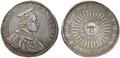 NumisBids: Nomisma Spa Auction 50, Lot 117 : MANTOVA Ferdinando Gonzaga (1612-1626) Ducatone 1614 – MIR 590/2 AG...
