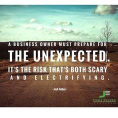 Are you prepared? #10XSuccess #entrepreneur #freedom JoshFelber.com