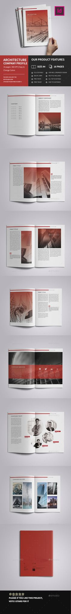 New Modern Architecture Brochure + Bundle Modern architecture - architecture brochure template