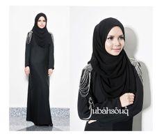 Loving This Abaya Dubai, Abaya Fashion, Beautiful Hijab, Turban, Womens Fashion, Clothes, Outfits, Clothing, Kleding