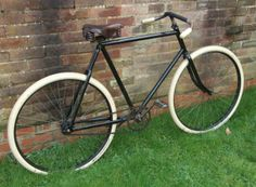 VINTAGE VETERAN 1900's VENETIA PATHRACER BICYCLE TWEED RUN brooks saddle | eBay