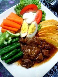 Selat solo Healthy Vegetable Recipes, Healthy Meals For One, Good Healthy Recipes, Healthy Chicken Recipes, Meat Recipes, Asian Recipes, Cooking Recipes, Indonesian Cuisine, Indonesian Recipes
